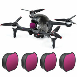 Drone Camera Gimbal Lens Filters Set ND 8 16 32 64 For DJI FPV Combo Accessories $39.99