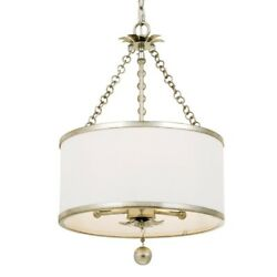 Crystorama Lighting 513 SA Broche Three Light Chandelier in traditional and $350.00