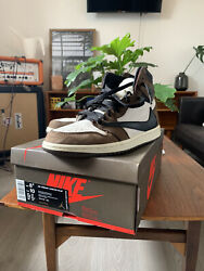 JORDAN 1 TRAVIS SCOTT HIGH SIZE 8.5 C $822.00