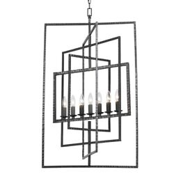 Crystorama Lighting 339 RS Capri Seven Light Chandelier in natural organic and $798.00