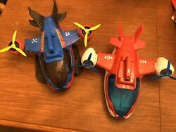 2 Paw Patrol Air Patrollers Cargo Planes Helicopter Toys with Lights amp; Sounds $29.99