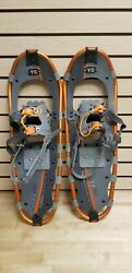 Yukon Charlie#x27;s 825 8X25quot; Snowshoes Orange for Hiking Adventuring Mountains $49.99