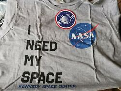 NASA Grey T shirt For Ladies Funny Novelty Size XXL New GBP 8.00