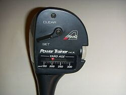 ASMO GOLF SWING SPEED POWER TRAINER RIGHT HAND PROFESSIONAL GRIP $29.00