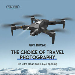 K80 Pro Drones with Camera for Adults Mini with GPS Return Home 1200Mah $72.15