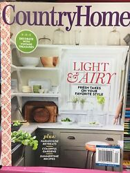 Country Home Light amp; Airy Vol 42 No 2 SUMMER 2021 Vintage Treasures Magazine $6.50