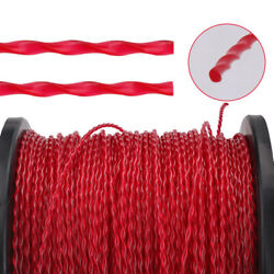 3lb .105 Round Red Round Commercial Heavy Duty String Trimmer Line Spool