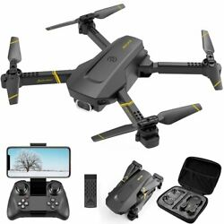 V4 Drone with Camera 1080P HD Video Foldable RC Quadcopter Helicopter $49.99