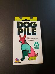 Brainwright DOG PILE Pup Packing PUZZLE 48 puzzles Ages 10 Educational Game $12.00