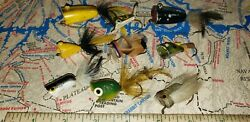 Vintage Fly Fishing Poppers Lot Of 9 $25.00