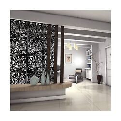 Hanging Room Divider PVC 12 PCS Partitions Panel Screen Bedroom Dining Study $46.99