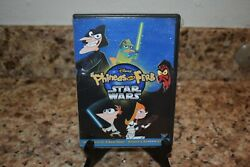 Phineas and Ferb: Star Wars DVD 2014 Perry in Carbonite Keychain $13.95