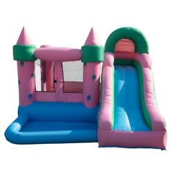 Lalaho Kids Gift Inflatable Water Slide Park Bounce House Castle with 480 Blower $299.99