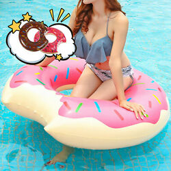 Swimming Tube Rings Inflatable Summer Beach Swimming Pool Party For Kids Adults $12.99
