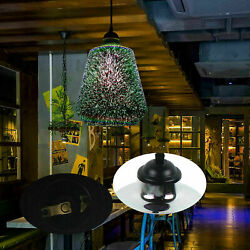 Hanging Modern 3D Colored Glass Ceiling Lights Chandeliers 26*34cm Pendant Lamp $39.00