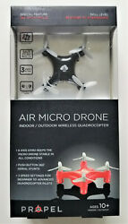 Propel Air Micro Drone 6 Axis Gryo Mini Indoor Outdoor RC 3 Speed Quadrocopter $23.95