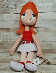 Phineas and Ferb CANDACE Stuffed Plush Doll 12quot; Disney Toy READ DESCRIPTION $36.00