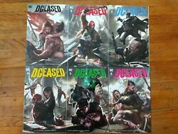 DCeased #1 6 Midtown Variant 1 2 3 4 5 6 Complete Connecting set NM condition $49.99