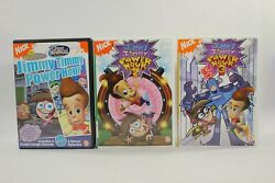Lot of 3 Nickelodeon Kids Jimmy Timmy Power Hour 1 2 3 DVD $52.99