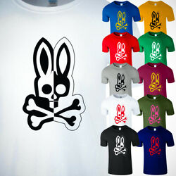 Psycho Bunny Penley Men T Shirt Funny Cool Vintage Adult Gifts Shirt New Tee USA $13.99