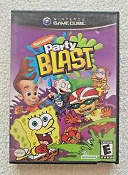 Nickelodeon Party Blast for Nintendo GameCube Complete Scratch free $11.89
