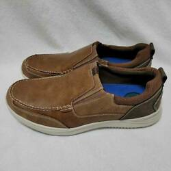 Nunn Bush Mens Conway Loafers Shoes Brown Slip On Moc Toe 12 M New $30.39