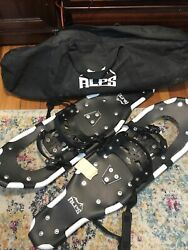 """ALPS Lightweight Unisex 28"""" Snowshoes with Carrying Tote Bag $30.00"""