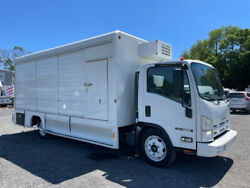2013 Isuzu NQR Cab Over Used Cabover Beverage Truck Diesel 5.2L Delivery Box $21500.00