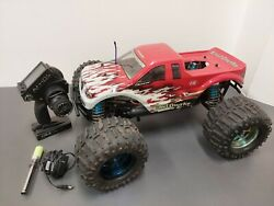 Heng Long Land Overlord 4WD 1 8 RC Nitro Monster Truck ARTR ASP 30CX Losi LST AU $290.00