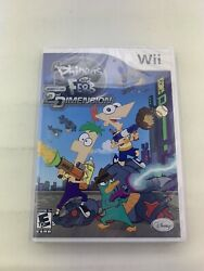 Phineas and Ferb: Across the 2nd Dimension Nintendo Wii ***Brand New Sealed*** $19.99