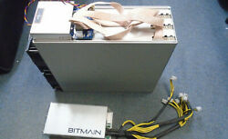 Used Bitmain Antminer E3 190MH s ETH Miner USA Seller with PSU power supply $2000.00
