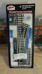 Atlas code 100 Right Hand Turnout complete switch set $8.00