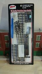 Atlas code 100 left Hand Turnout complete switch set $8.00