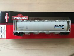 InterMountain HO 45239 Inland Cement Cylindrical Covered Hopper $46.95