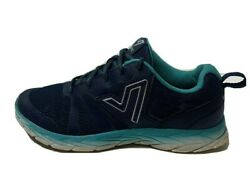 Vionic Womens Wide Size 9 Brisk Miles Blue Teal Orthotic Tennis Shoes $19.95