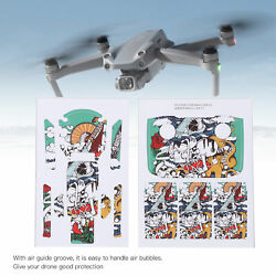 1 Pair PVC Stickers Drone Body RC Protective Scratch‑proof Sticker Set for Drone $13.49