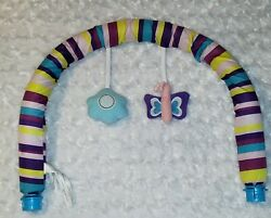 Evenflo Exersaucer Sweet Tea Party Arch Toy Bar Replacement Part $22.99
