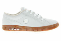 AIRWALK THE ONE GUM LEATHER SKATE SHOES WHEAT WHITE MENS SIZE 9.5 NEW FAST⚡ $59.95