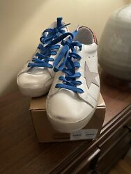 NIB Golden Goose Super Star women sneakers a row of beads on the back size 38 $410.00