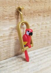 PLAYMOBILE TAKE ALONG PIRATE STRONGHOLD Parrot Replacement Piece $3.00