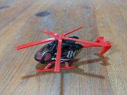 Matchbox Airblade 2009 Mattel Black Red Rescue Helicopter A #86 $3.00