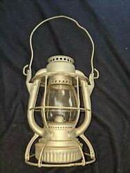 NYC lantern for sale $115 Lantern marked NYCS Dietz with NYC Lines clear globe $116.00