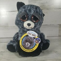 Feisty Pets Tricky Ricky The Silver Fox Plush by William Mark Rare 2017 NEW Tags $23.09