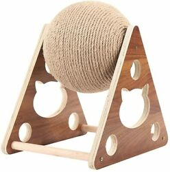 HMKGKJ Pet Cats Tree Toys with Ball Cats Scratching Post with Sisal Rope Climbin $175.00