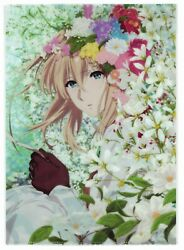 Violet Evergarden Special Novelty For Theater Visitors quot;A4 Size File Folderquot; $28.48