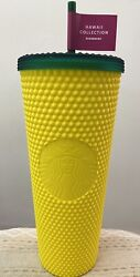 🍍 NEW Starbucks Hawaii Exclusive Pineapple Matte Studded Tumbler Cup 24oz $29.99