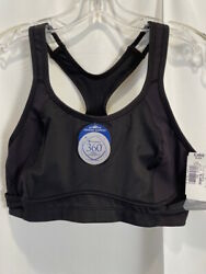 NEW Champion High Support extreme Motion Control Black Sports Bra XL NWT $18.99