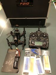 Walkera F210 3d Racing Drone and FPV Controller with Carrying Case. $335.00