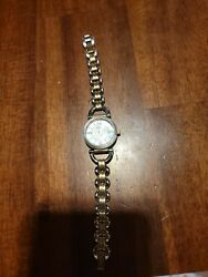 Womens Fossil Watch. Petite Cocktail Style Gold And Silver Tone $16.99