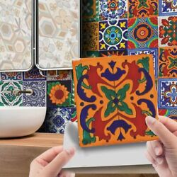 24Pcs Mosaic Tile Wall Stickers Kitchen Bathroom Self Adhesive Moroccan Style $9.99